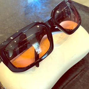 NEW RARE CHANEL Large Sunglasses MSRP$599 Gradient